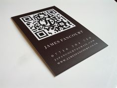 My business card sample from @MOO.COM ! Great company. Will have to order some more, although now I'm not sure about the design..