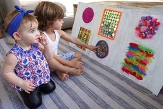 Sensory Playtime Ideas for Babies | Molly Sims