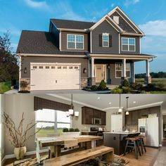 Open floor plan in Architectural Designs Flexible (3 or 4) Bedroom House Plan 42383DB. Just under 2,000 square feet. Ready when you are. Where do YOU want to build?