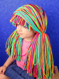 Clown Wig Halloween Costume Clown Costumes Mardi Gras by YumbabY