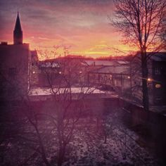 Sunset in Świętochłowice
