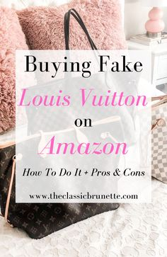 Louise Vuitton, Fake Designer Bags, Types Of Purses, Champagne Taste, Monogram Tote, Best Bags, Brown Bags, Louis Vuitton Neverfull, Console Table