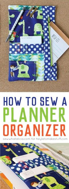 Need a better way to keep your planner organized? Sew a custom planner organizer to hold all of your pens and stickers! - evening purses, zip purse, cute small purses *sponsored https://www.pinterest.com/purses_handbags/ https://www.pinterest.com/explore/hand-bags/ https://www.pinterest.com/purses_handbags/dkny-handbags/ http://www.brahmin.com/handbags