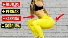 3 EXERCICIOS PARA GANHAR PERNAS E GLUTEOS EM CASA! Treino Rápido Para Aumentar Bumbum e Pernas