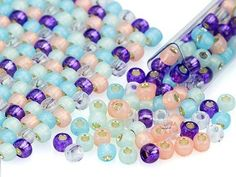 Carnival Candy 6/0 Designer Seed Bead Blend