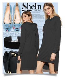 """""""SHEIN"""" by amilasahbazovic ❤ liked on Polyvore featuring Michael Kors, Miss Selfridge and Charlotte Olympia"""