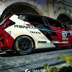 Honda Jazz, Honda Fit, Brio, Vinyls, Jdm, Cars And Motorcycles, Spoon, Sticker, Racing