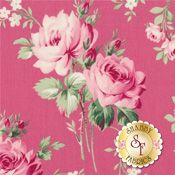 Barefoot Roses - Legacy Collection TW54-Pink by Tanya Whelan for Free Spirit Fabrics