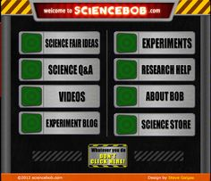 Science Bob - videos, experiments, labs