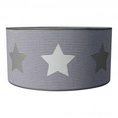 Sterren lamp model 1 wit zilver grijs www.roozje.nl kinderlampen Kids lamp nursery star