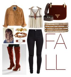 """""""Fall essential"""" by noah0421 on Polyvore featuring New Look, ASOS, Madewell, Eddie Borgo, Chan Luu and Daniel Wellington"""