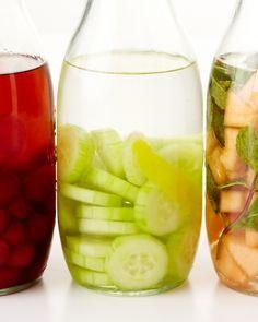 Cucumber-Lemon Gin - Martha Stewart Recipes