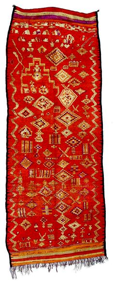Africa   Berber rug from Morocco   ca. early 20th century   Wool