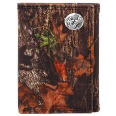 South Florida Bulls Mossy Oak Break-Up Leather Tri-Fold Wallet - Camo - $36.09