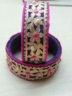 Silk Thread Bangles Design, Silk Bangles, Silk Thread Earrings, Bridal Bangles, Thread Jewellery, Bead Embroidery Jewelry, Fabric Jewelry, Beaded Jewelry, Handmade Jewelry