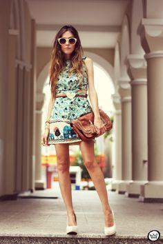 FashionCoolture 04:03 (7) Antix dress pattern cut out