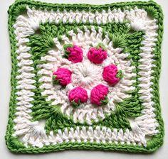 Crochet & More : Strawberry Stitch Tutorial