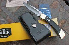 Buck FINGER GROOVED Folding Hunter 110 AUTOMATIC w/ Ebony Wood Buck Knife 110, Buck 110, Unique Knives, Automatic Knives, Buck Knives, Folding Knives, Knifes, Finger, Tools