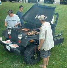 Jeep Grill #Man #Cave #Garage #Grills