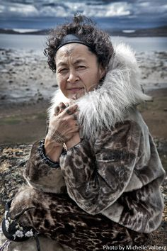 I photographed Aaju in Iqaluit, Nunavut People Of The World, Real People, Inuit People, Folk Clothing, American Spirit, Sister Tattoos, Alaska, Beautiful People, Celebrities