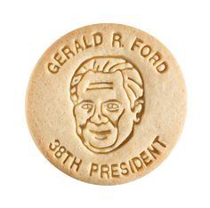 Dick & Jane Educational Snacks;  Presidential Edition;  Gerald Rudolf Ford,  38th President,  1974-1977