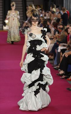 Christian Lacroix ~black and white