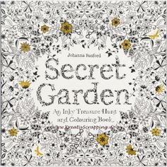 SECRET GARDEN COLORING BOOK - AN INKY TREASURE HUNT AND COLORING BOOKKjøp boken Secret Garden - An Inky Treasure Hunt and Coloring Book av Johanna Basford. Fargeleggingsbok på 96 sider.  - all waiting to be brought to life through coloring, but each also sheltering all kinds of tiny creatures just waiting to be found. And there are also bits of the garden that still need to be completed by you. Appealing to all ages, the intricately-realized world of the Secret Garden is both beautifu...