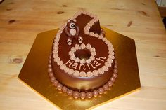 Seven Benefits Of 116 Birthday Cake That May Change Your Perspective 6th Birthday Cakes, Ice Cream Birthday Cake, Birthday Cake Girls, Birthday Ideas, Birthday Gifts, 6 Cake, Brownie Cake, Fondant Cakes, Cupcake Cakes