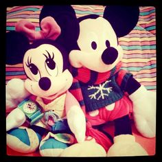mikey and minnie mouse!