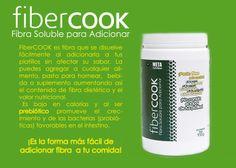 Fibercook  by Meta Nutrition. 100% fibra dietetica soluble para adicionar a tus platillos o bebidas.