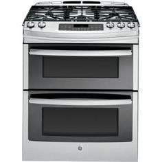 The GE PGS950SEFSS is one of our best-selling models here at Goedeker's. When you're wanting two ovens, but lack the kitchen space for a double wall oven, a double oven range will fix all your problems. With 6.8 cubic feet of cooking capacity, it's going to give you exactly what you are looking for in the most compact package possible.