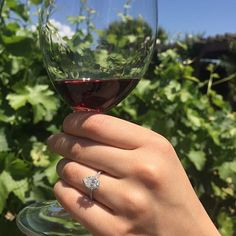 Celebrating in Napa Valley. Thanks for sharing this beautiful photo, @ mei_hem! #BrilliantEarth #EngagementRing