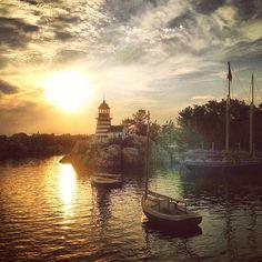 Sunset. Tokyo Disney Sea - @moonlightice- #webstagram