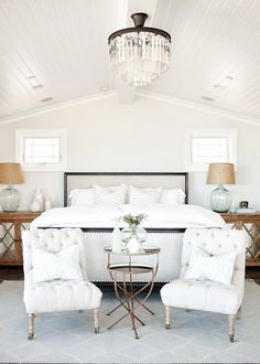 I love this master bedroom! The entire home is beautiful! House of Turquoise: Becki Owens Design Coastal Master Bedroom, Coastal Bedrooms, Master Bedroom Design, Home Bedroom, Bedroom Decor, Bedroom Ideas, Bedroom Furniture, Bedroom Designs, Modern Bedroom