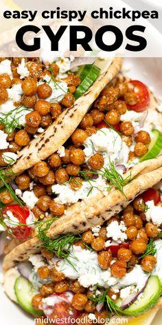 Quick Vegetarian Dinner, Tasty Vegetarian Recipes, Vegetarian Recipes Dinner, Vegan Dinners, Veggie Recipes, Cooking Recipes, Healthy Recipes, Dinner Healthy, Chicken Recipes