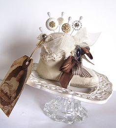 Sweet Little Vintage Baby Shoe