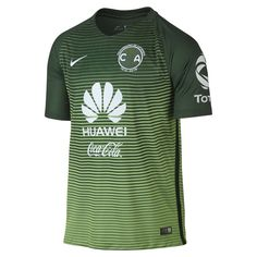 dfdbc9ece30 Nike 2016/17 Club America Stadium Third Men's Soccer Jersey Size Medium  (Green)