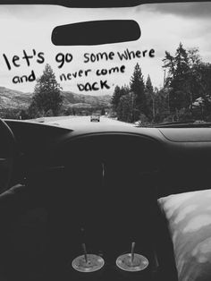 never ending | forever | road trip | car | travel | journey | dual…