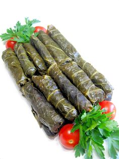 My Turkish Kitchen: Bulgur Dishes  Collard greens'leaves stuffed with minced meat and bulgur