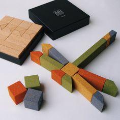 Building Blocks by Tonouchi Tetsuo- Petit & Small