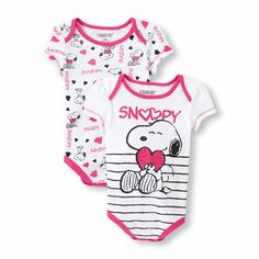 Children's place snoopy onesies