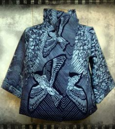 Handmade Jacket realized by Virginia Mussoni. https://www.facebook.com/suomii.fabrics  #handmade #clothes #africanprints