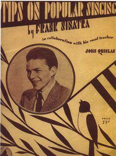 Tips on Popular Singing by Frank Sinatra & John Quinlan