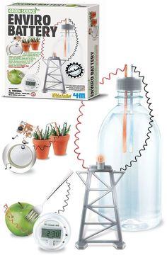 Szeretsz kísérletezni? Érdekel az elektronika? Ennek a játéknak a segítségével egyszerű anyagokból, mint például burgonya, citrom, alma, vagy víz, ese...