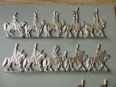 20 PLATS D ETAIN BRUT FIGURINES SEGOM = LANCIERS POLONAIS 1811 / 1814 | Jouets et jeux, Petits soldats | eBay!