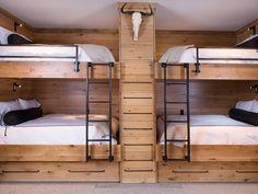 beliche duplo de madeira rustica