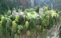 Burganlagen Hohen Rätien - Hochzeitslocation in Sils im Domleschg