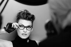 Linda Evangelista photos in fashion -