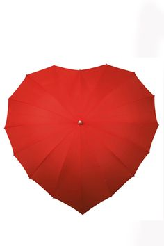 For rainy wedding day pictures :-) Red Heart Umbrella - Unique Vintage - Cocktail, Pinup, Holiday & Prom Dresses.