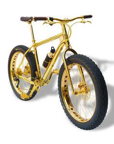 Un Vélo en Or 24 Carats pour 1 million de dollars (1)